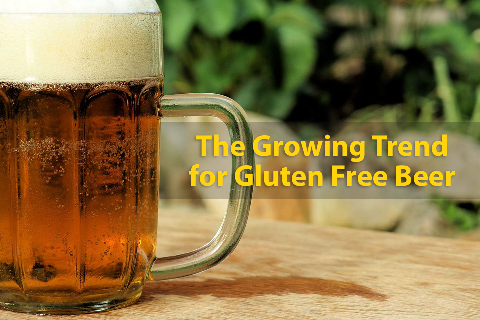 growing trend gluten free beer