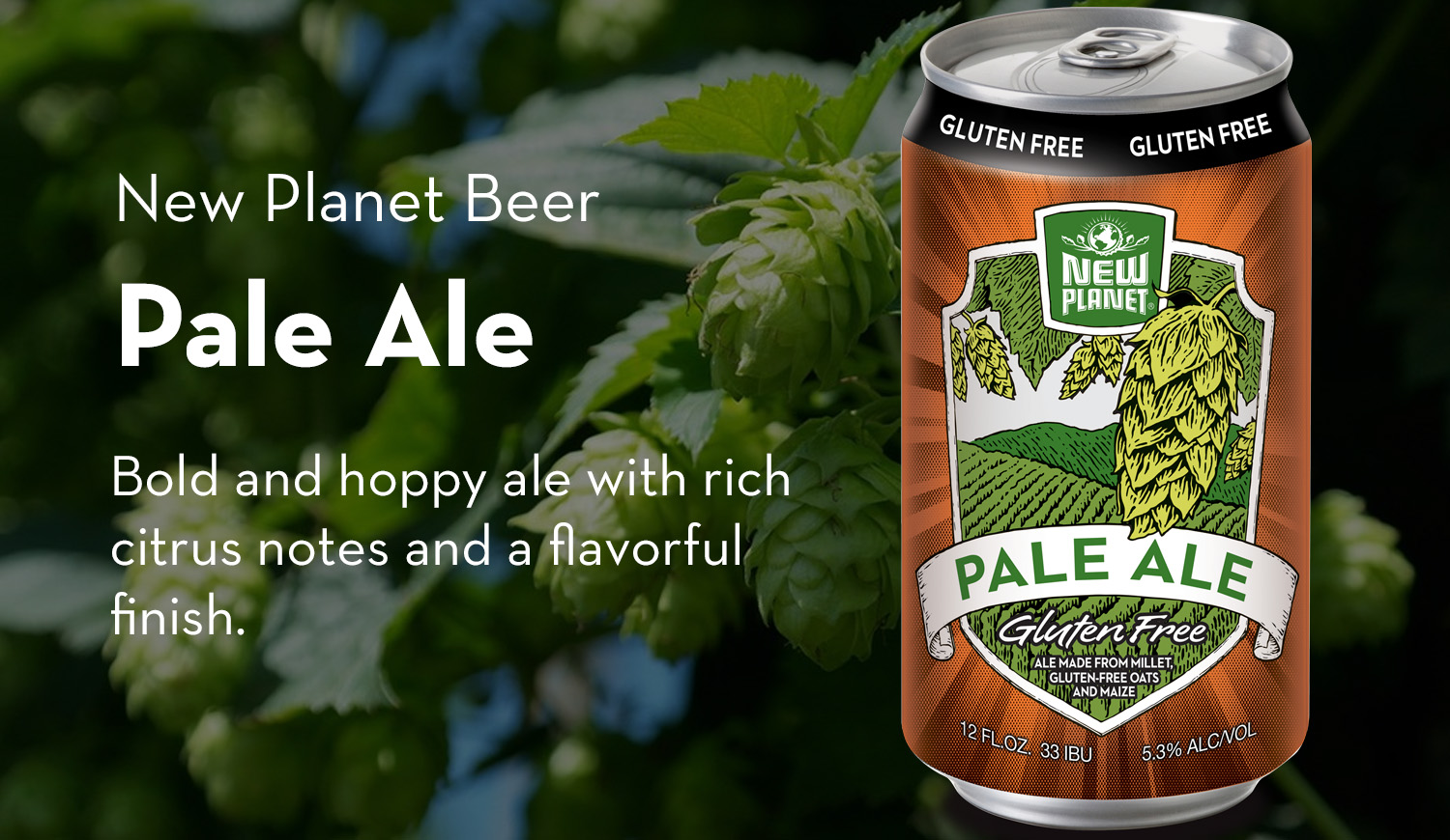 New Planet Beer | Gluten Free and Gluten Reduced Beer from ...